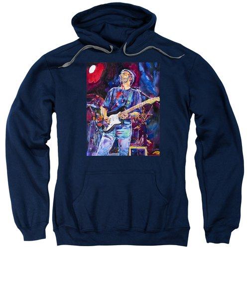 Eric Clapton And Blackie Sweatshirt by David Lloyd Glover