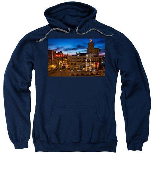 Evening At Pabst Sweatshirt