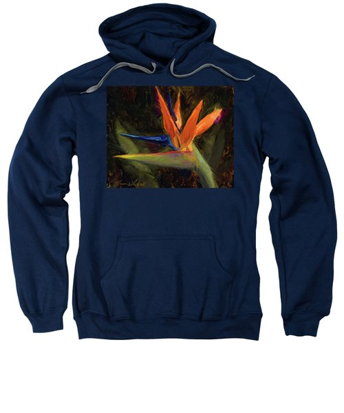 Extravagance - Tropical Bird Of Paradise Flower Sweatshirt