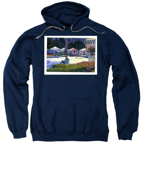 Farmers Market, Madison Sweatshirt