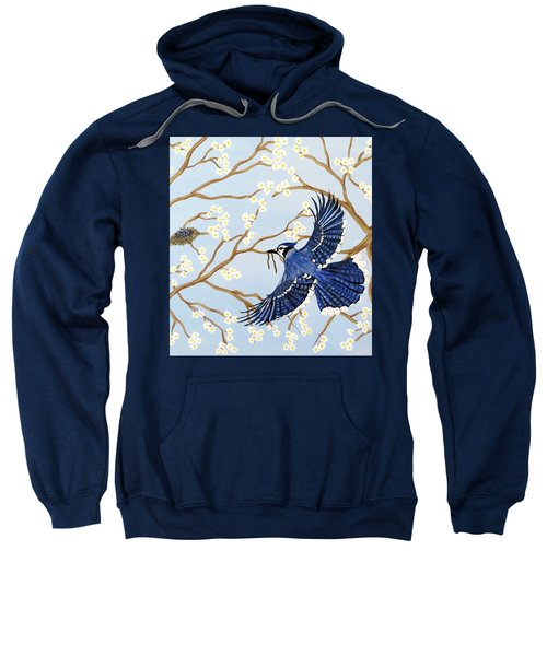 Feeding Time Sweatshirt by Teresa Wing