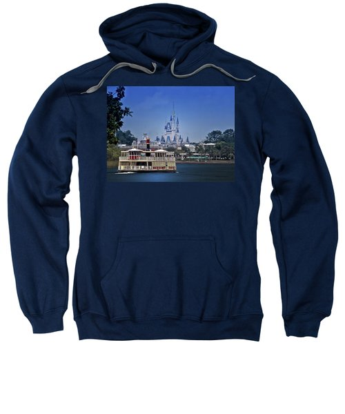 Ferry Boat Magic Kingdom Walt Disney World Mp Sweatshirt