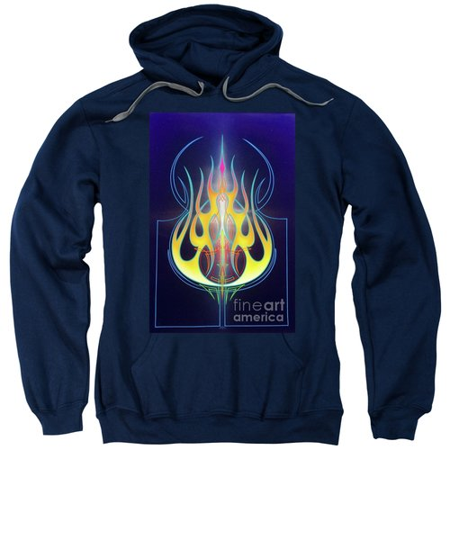 Flaming Bass Note Sweatshirt