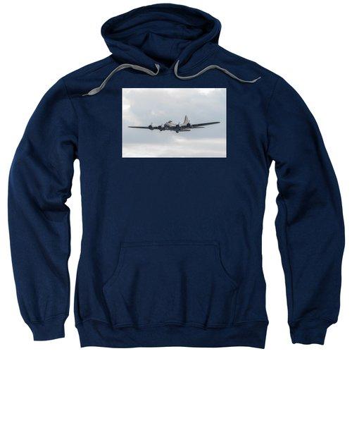 Flying Fortress Sally B Sweatshirt by Gary Eason