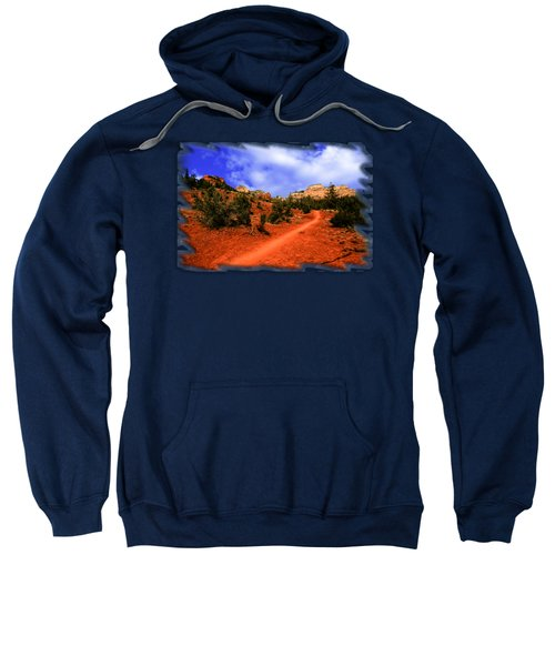 Follow Me Sweatshirt by Mark Myhaver