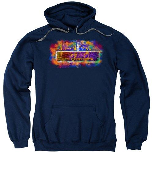 Forgive Brick Blue Tshirt Sweatshirt by Tamara Kulish