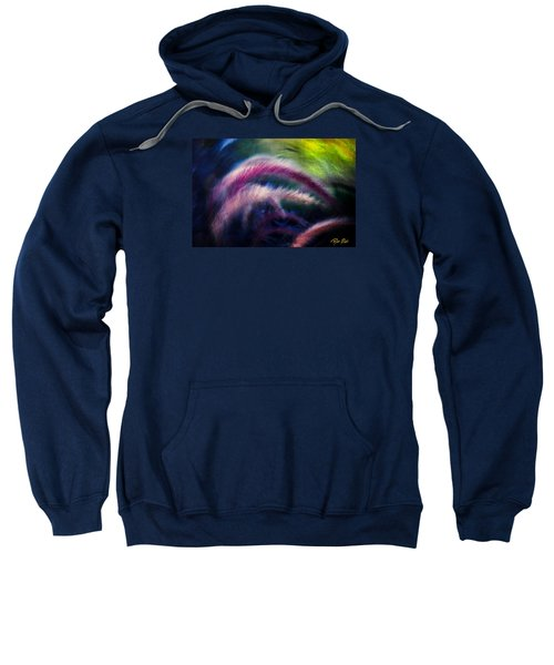 Sweatshirt featuring the photograph Foxtails In Shadows by Rikk Flohr
