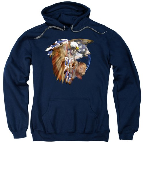 Freedom Lives Sweatshirt by Carol Cavalaris
