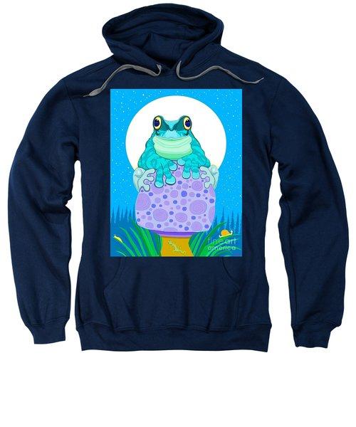 Full Moon Froggy  Sweatshirt