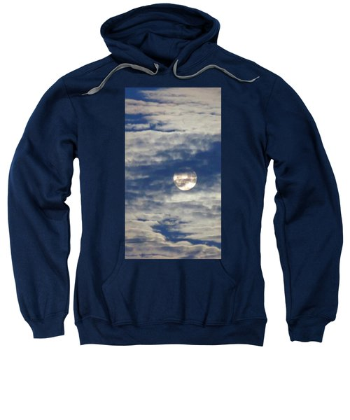 Full Moon In Gemini With Clouds Sweatshirt
