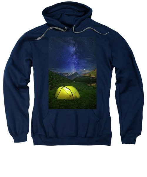 Galactic Eruption Sweatshirt