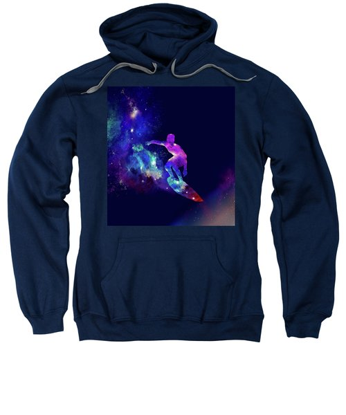 Galaxy Surfer 2 Sweatshirt
