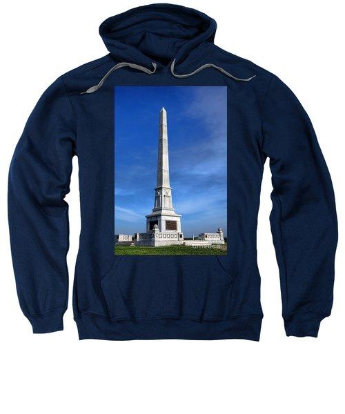 Gettysburg National Park United States Army Regulars Memorial Sweatshirt