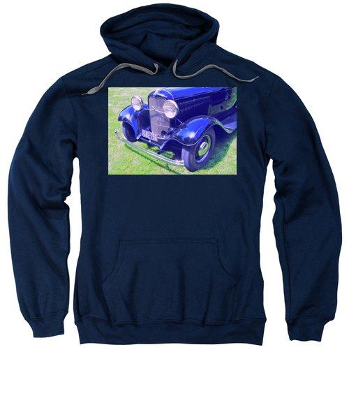 Glowing Blue Sweatshirt