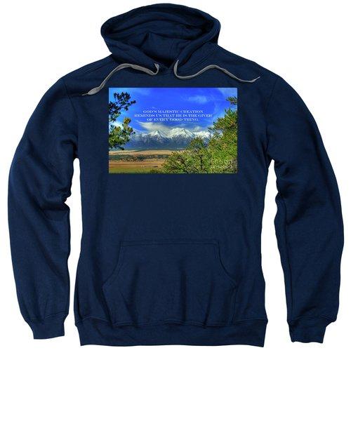 God's Majestic Creation Sweatshirt