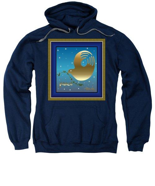 Gold Peace Dove Sweatshirt