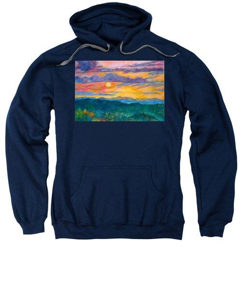 Golden Blue Ridge Sunset Sweatshirt