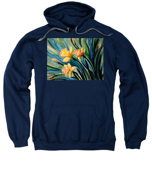Golden Daffodils Sweatshirt