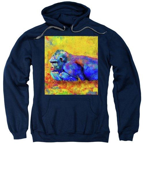 Gorilla Sweatshirt by Test