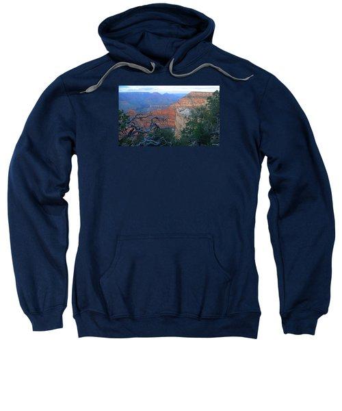 Grand Canyon South Rim - Red Hues At Sunset Sweatshirt