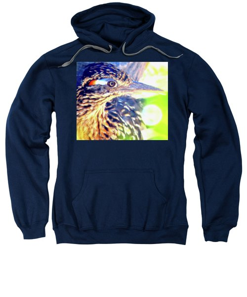 Greater Roadrunner Portrait 2 Sweatshirt