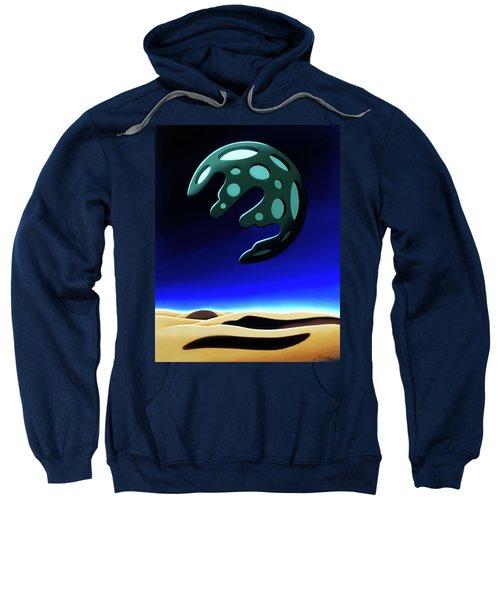 Green Moon Rising Sweatshirt