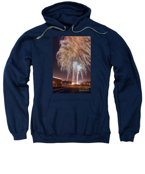 Guy Fawkes Night Fireworks Sweatshirt