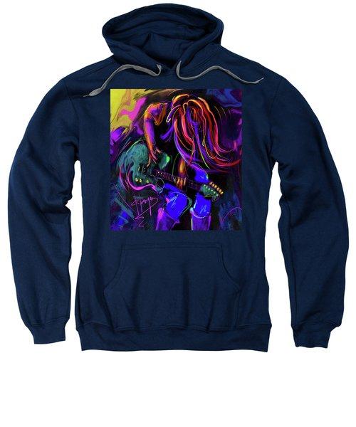 Hair Guitar 2 Sweatshirt