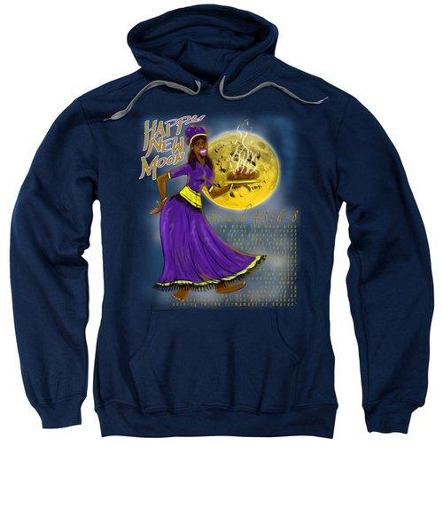 Happy New Moon Sirach 43 Sweatshirt