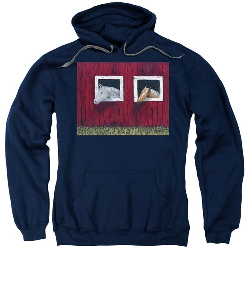 He And She Sweatshirt