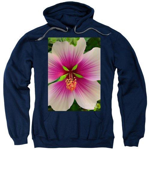 Hibiscus Face Sweatshirt