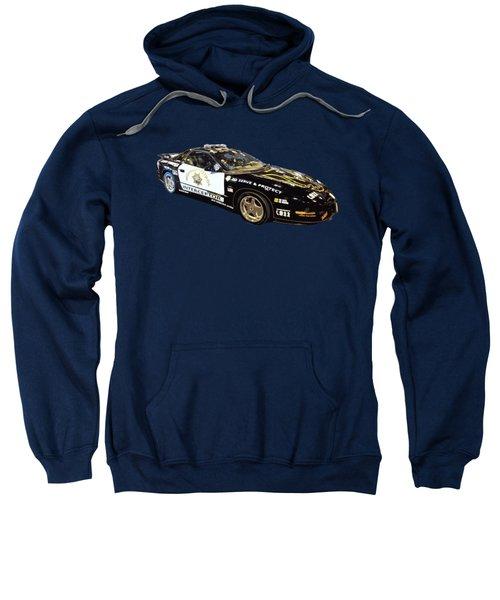 Highway Interceptor Art Sweatshirt