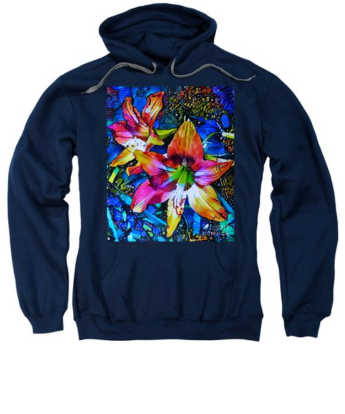 Hippeastrum Abstract Sweatshirt