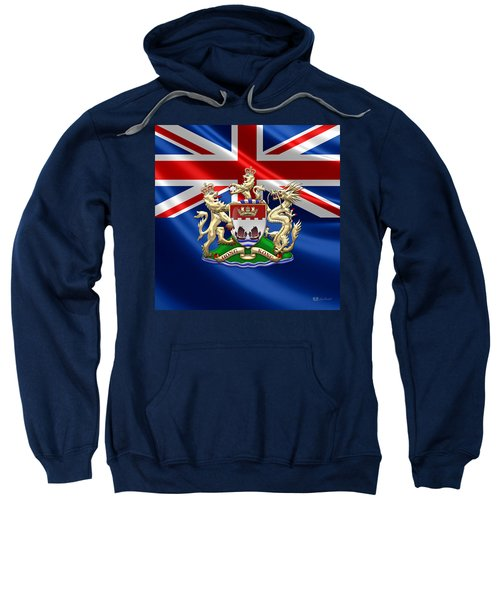 Hong Kong - 1959-1997 Coat Of Arms  Sweatshirt