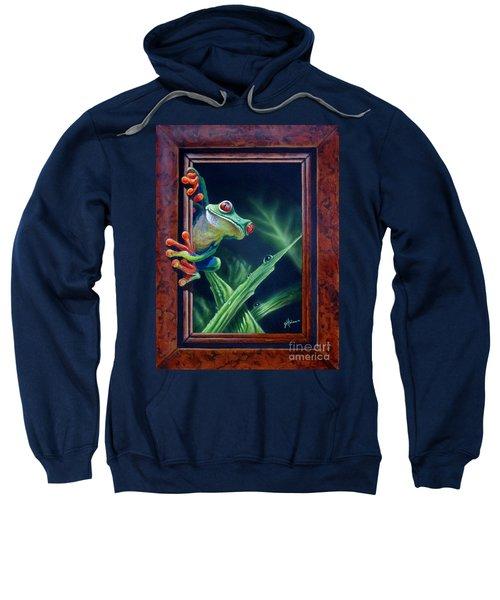 'i Was Framed' Sweatshirt