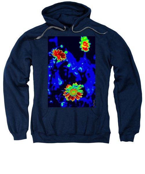If Love Was A Flower Sweatshirt