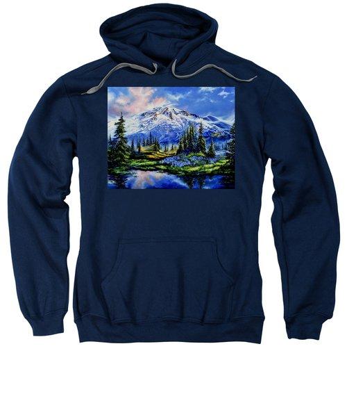Sweatshirt featuring the painting In Joyful Harmony by Hanne Lore Koehler