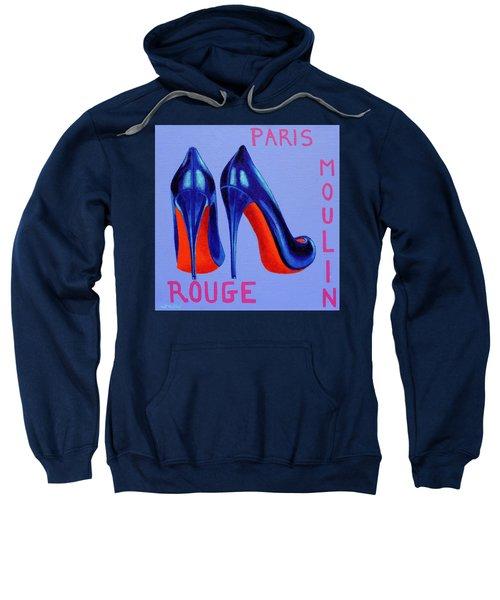 Irish Burlesque Shoes Sweatshirt by John  Nolan