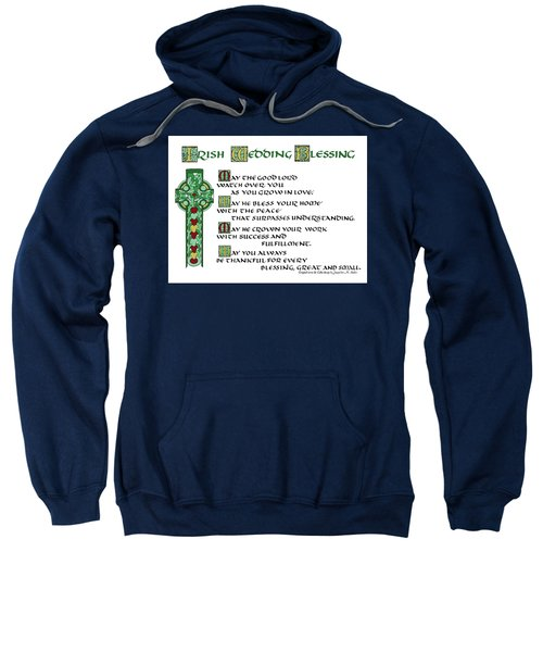 Irish Celtic Wedding Blessing Sweatshirt