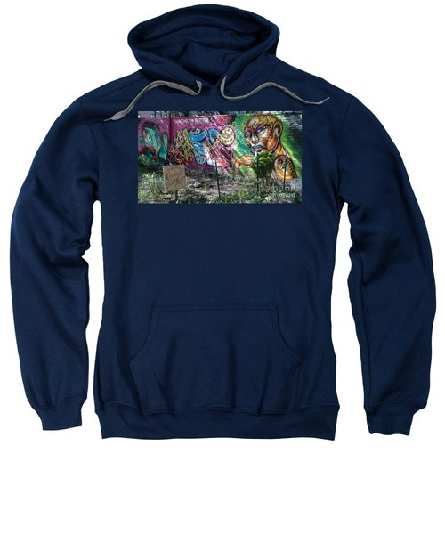Isham Park Graffiti  Sweatshirt by Cole Thompson