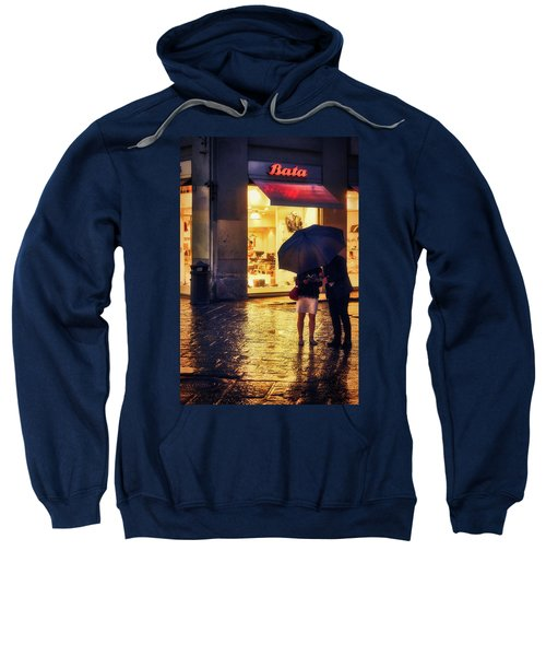 It Is Raining In Firenze Sweatshirt