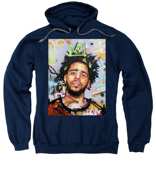 J Cole Sweatshirt by Richard Day