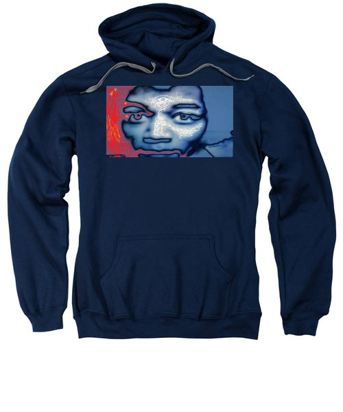 Jimi Hendrix Oh Say, Can You See The Rockets Red Glare Sweatshirt