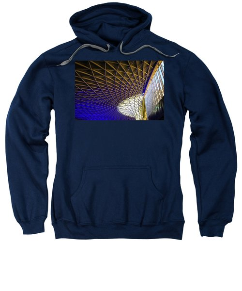 Kings Cross Railway Station Roof Sweatshirt