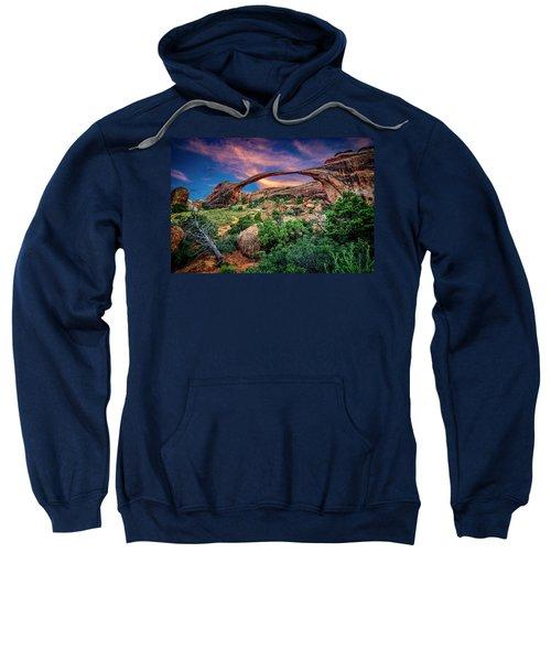 Landscape Arch At Sunset Sweatshirt