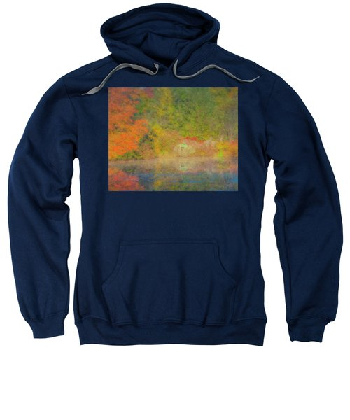 Langwater Pond Boathouse October 2015 Sweatshirt