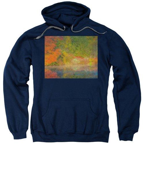 Langwater Pond Boathouse October 2015 Sweatshirt