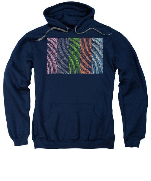 Leaves In Art Sweatshirt
