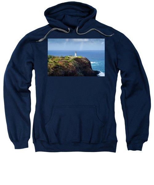 Lighthouse On A Cliff Sweatshirt