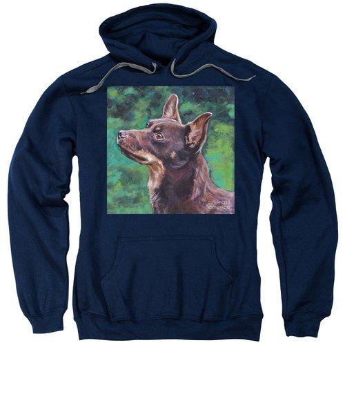 Liver Lancashire Heeler Sweatshirt